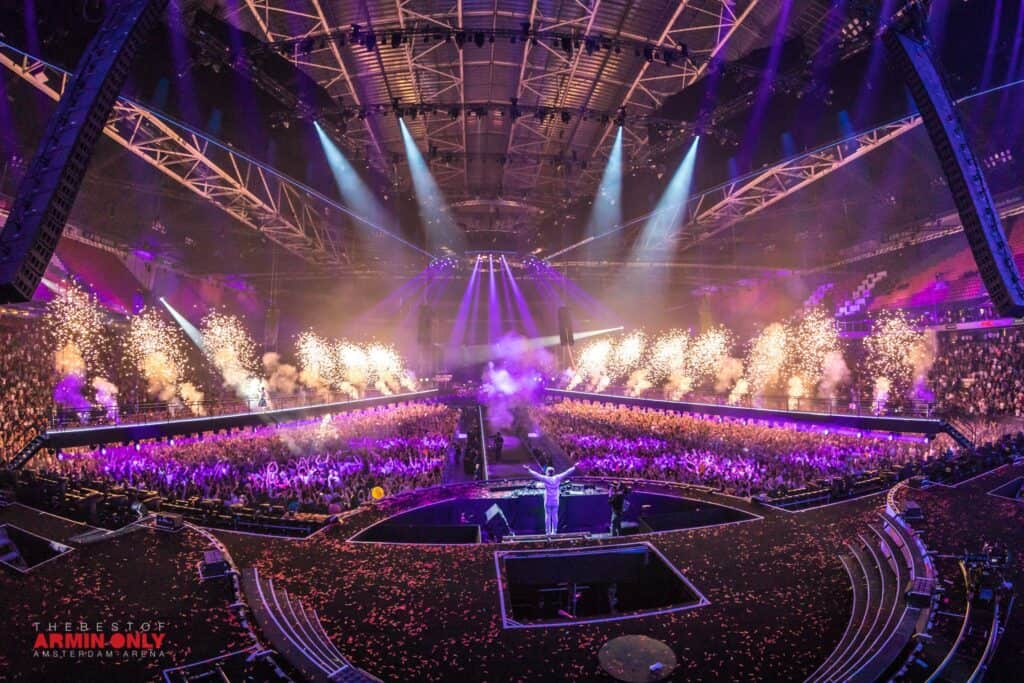 Armin van Buuren Festival Marketing