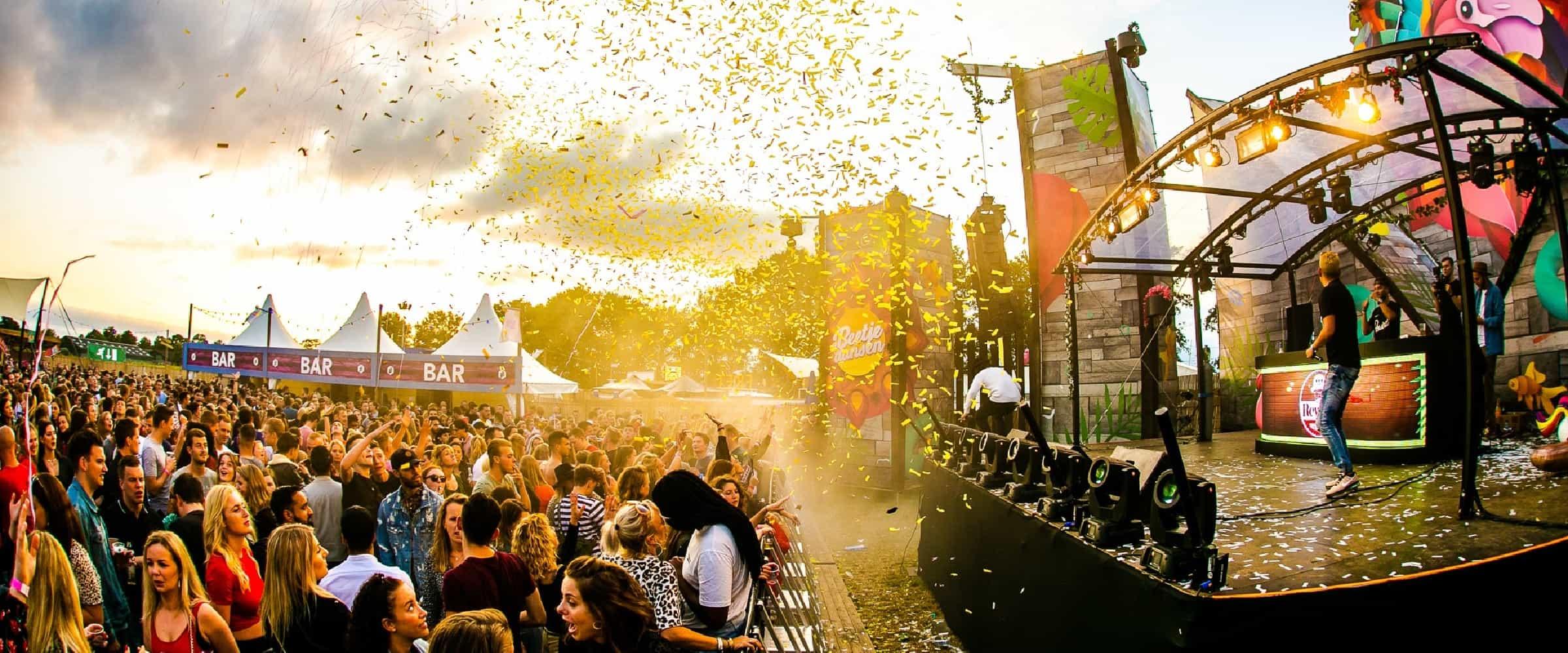 festival organiseren checklist