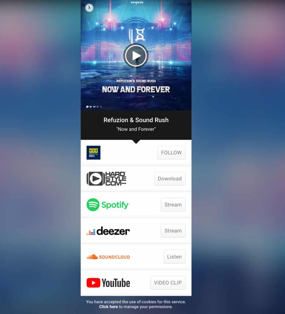 Upload music to spotify - presave